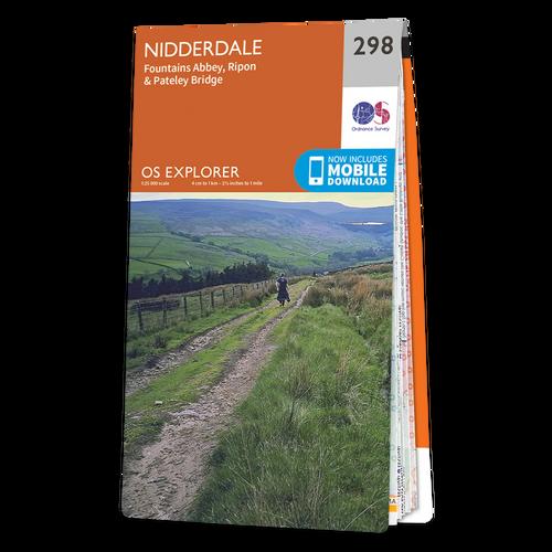 Map of Nidderdale