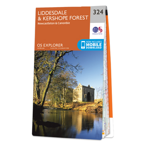Map of Liddesdale & Kershope Forest