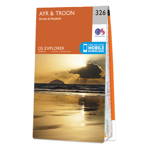 Map of Ayr & Troon