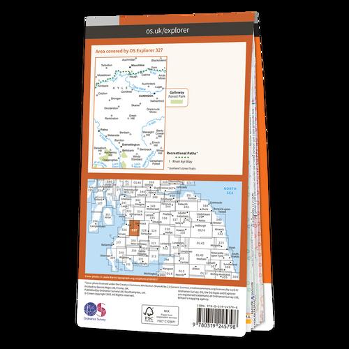 Map of Cumnock & Dalmellington