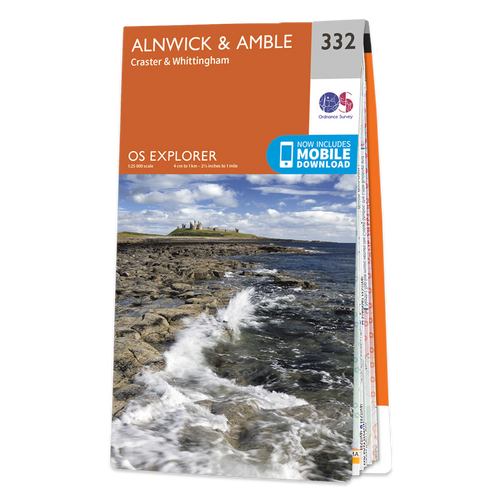 Map of Alnwick & Amble