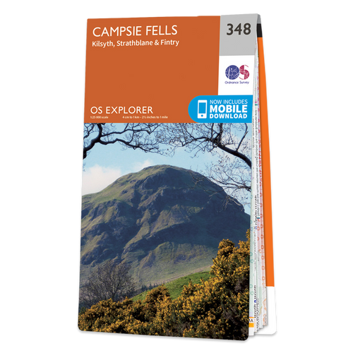 Map of Campsie Fells
