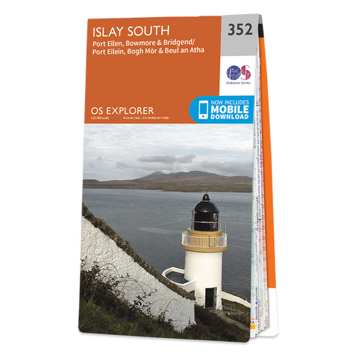 Map of Islay South