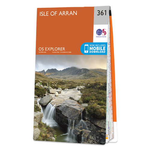 Map of Isle of Arran Explorer