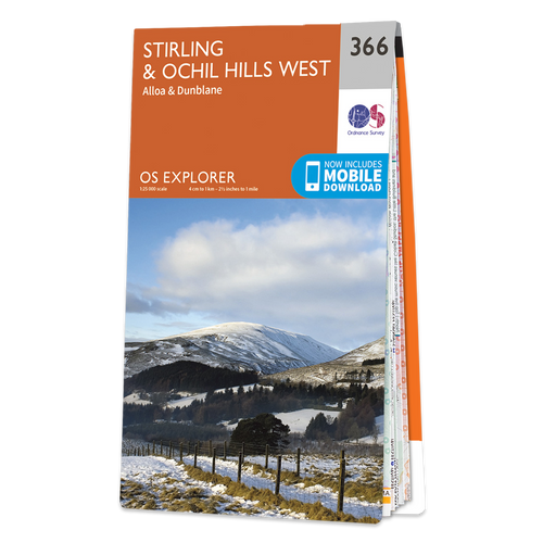 Map of Stirling & Ochil Hills West