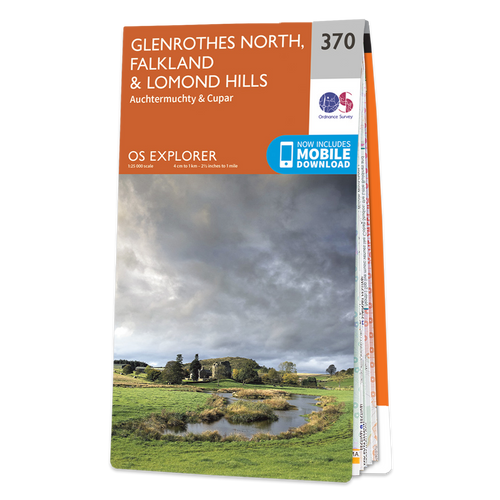 Map of Glenrothes North, Falkland & Lomond Hills