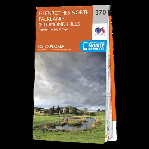 Map of Glenrothes North, Falkland & Lomond Hills