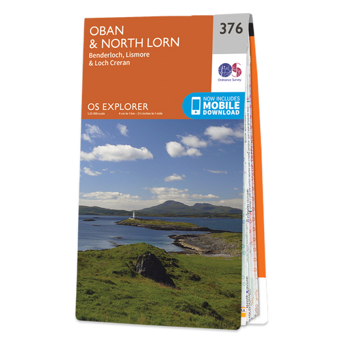 Map of Oban & North Lorn