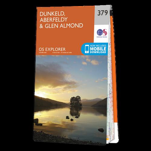Map of Dunkeld, Aberfeldy & Glen Almond