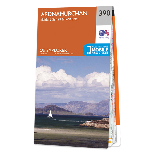 Map of Ardnamurchan