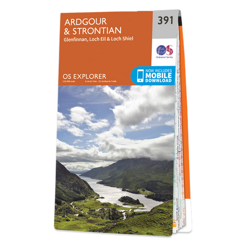 Map of Ardgour & Strontian