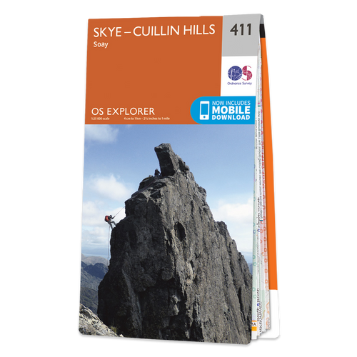 Map of Skye - Cuillin Hills