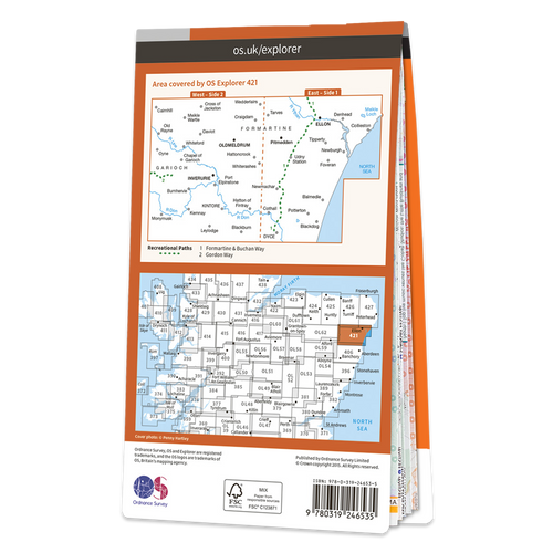 Map of Ellon & Inverurie