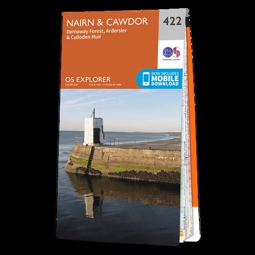 Map of Nairn & Cawdor