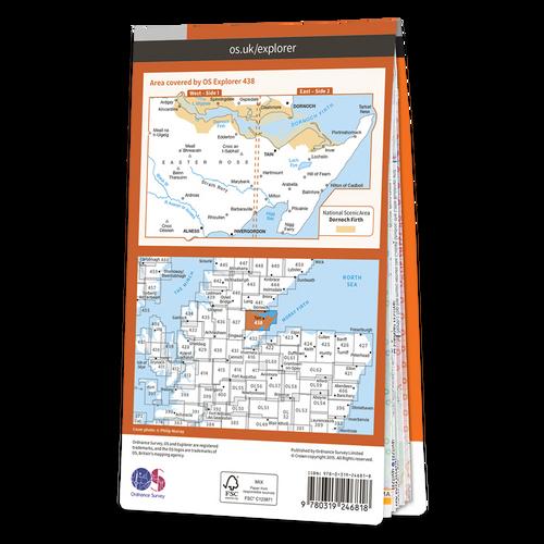 Map of Dornoch & Tain