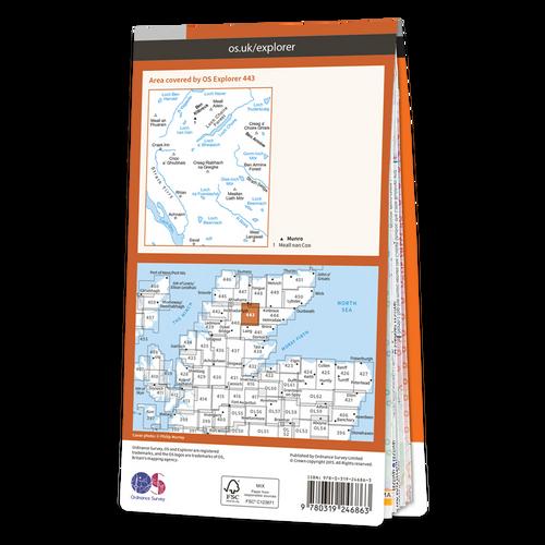 Map of Ben Klibreck & Ben Armine