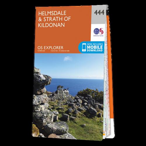 Map of Helmsdale & Strath of Kildonan Explorer