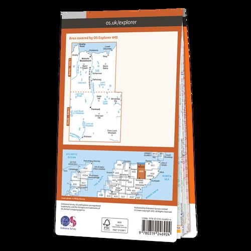 Map of Strath Halladale & Strathy Point
