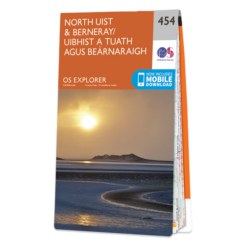 Map of North Uist & Berneray