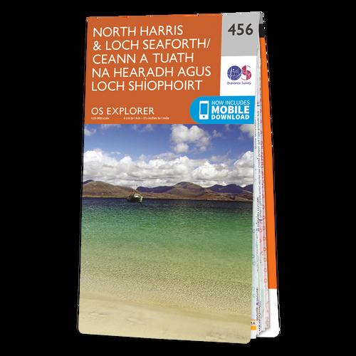 Map of North Harris & Loch Seaforth