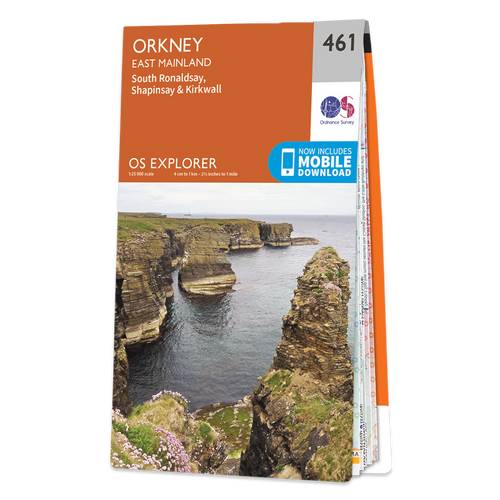 Map of Orkney - East Mainland