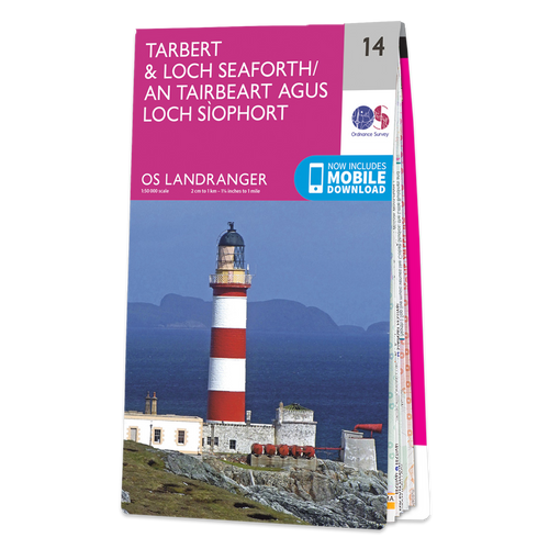 Map of Tarbert & Loch Seaforth