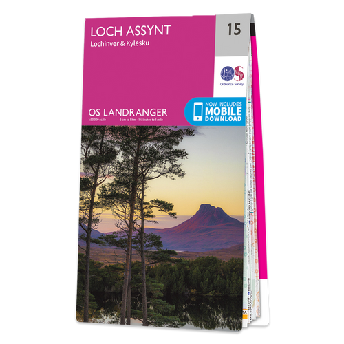 Map of Loch Assynt