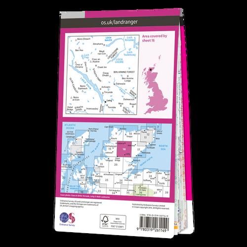 Map of Lairg & Loch Shin