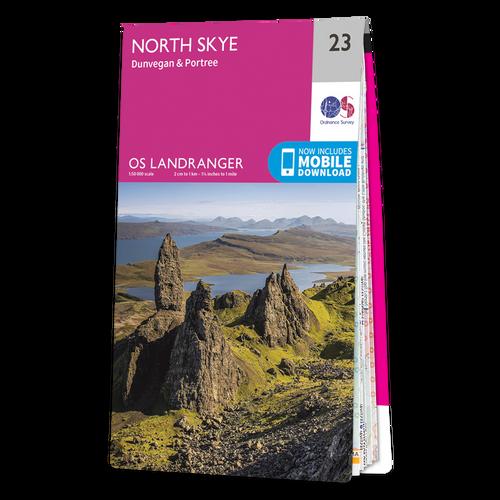 Map of North Skye