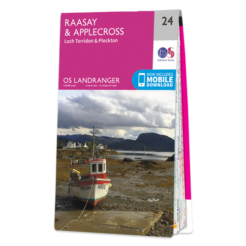 Map of Raasay & Applecross
