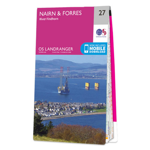 Map of Nairn & Forres