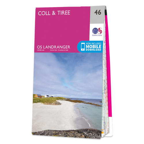 Map of Coll & Tiree Landranger