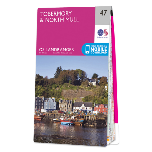 Map of Tobermory & North Mull