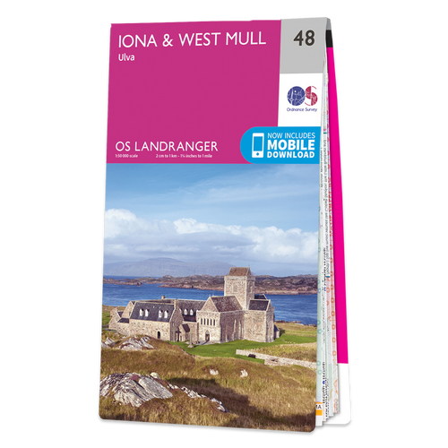 Map of Iona & West Mull