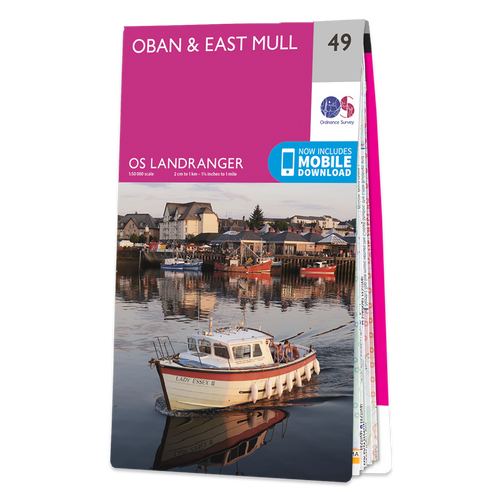 Map of Oban & East Mull