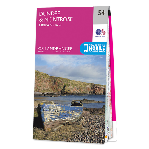 Map of Dundee & Montrose