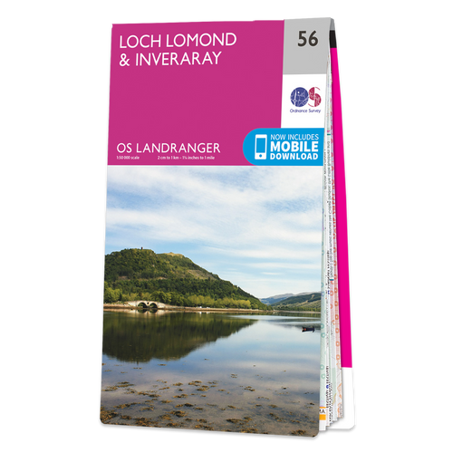 Map of Loch Lomond & Inveraray