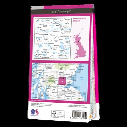 Map of Perth & Alloa