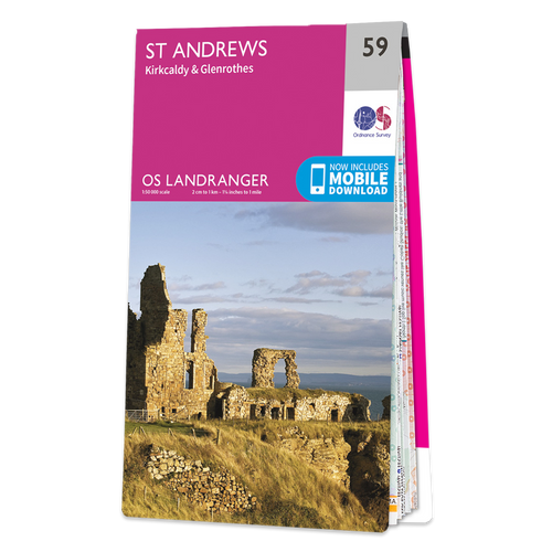 Map of St Andrews