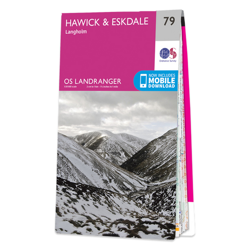 Map of Hawick & Eskdale