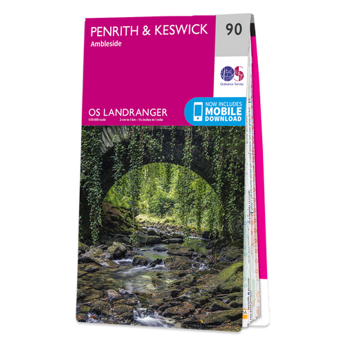 Map of Penrith & Keswick