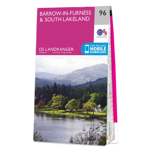 Map of Barrow-in-Furness & South Lakeland