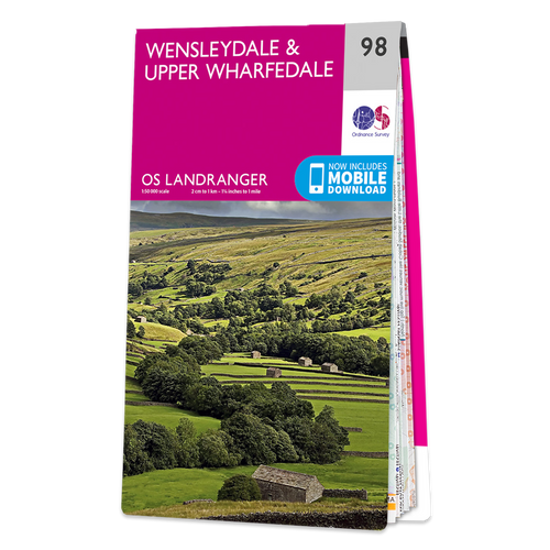 Map of Wensleydale & Upper Wharfedale
