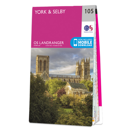 Map of York & Selby