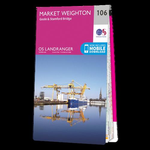 Map of Market Weighton