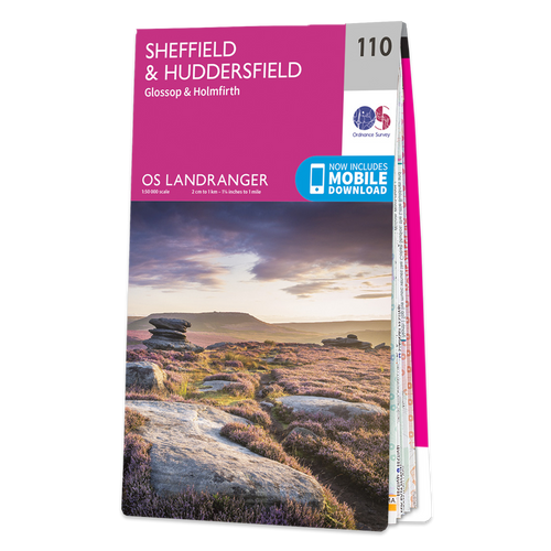 Map of Sheffield & Huddersfield