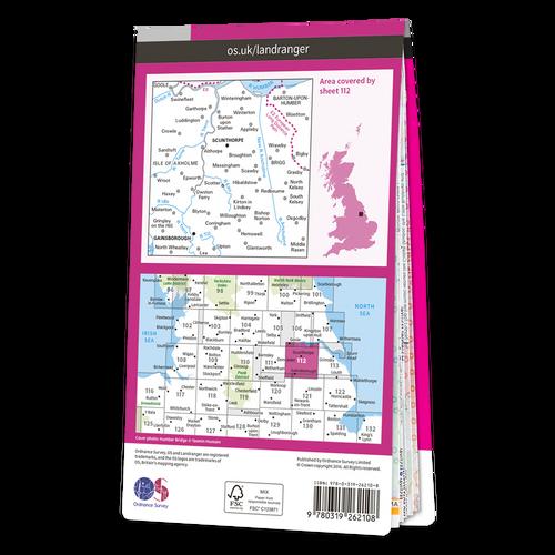 Map of Scunthorpe & Gainsborough