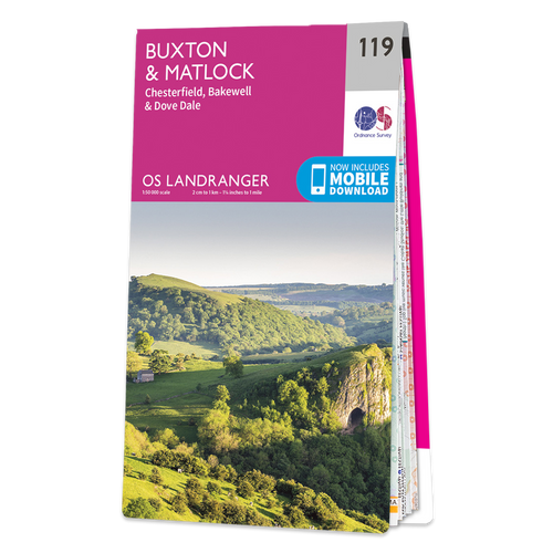 Map of Buxton & Matlock