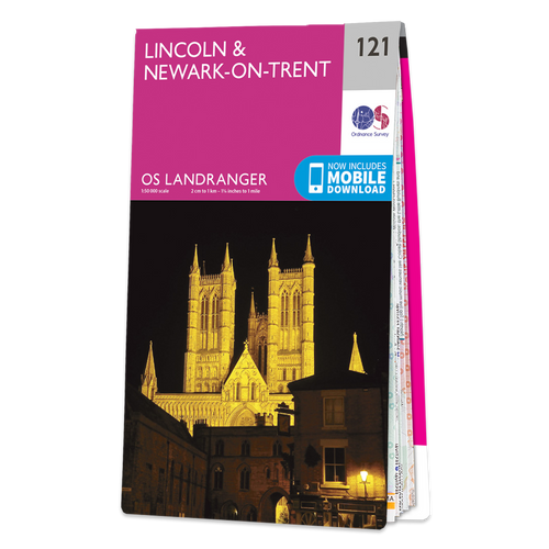 Map of Lincoln & Newark-on-Trent