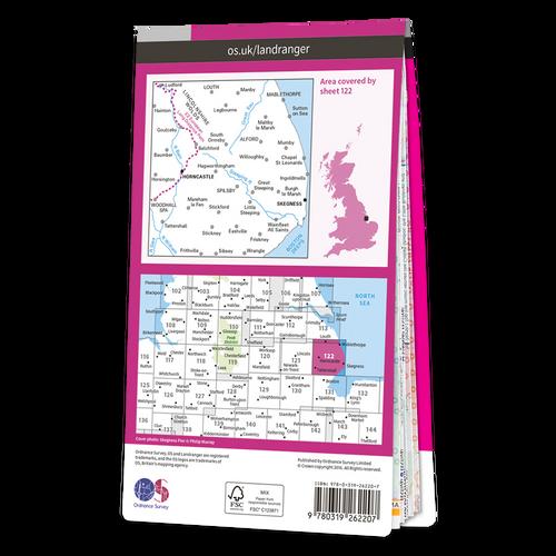 Map of Skegness & Horncastle